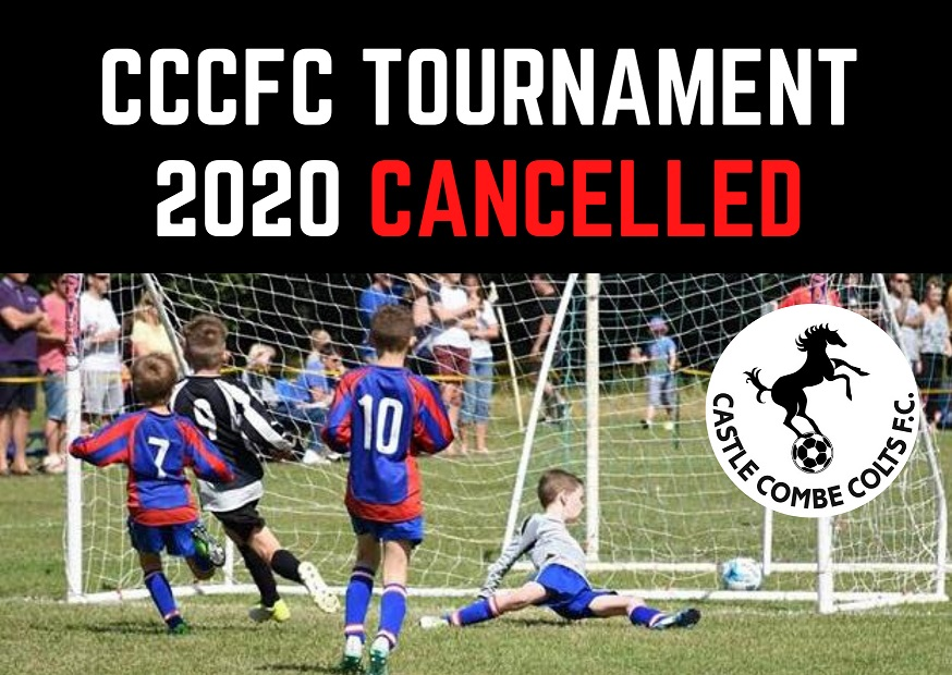 Tournament cancelled website